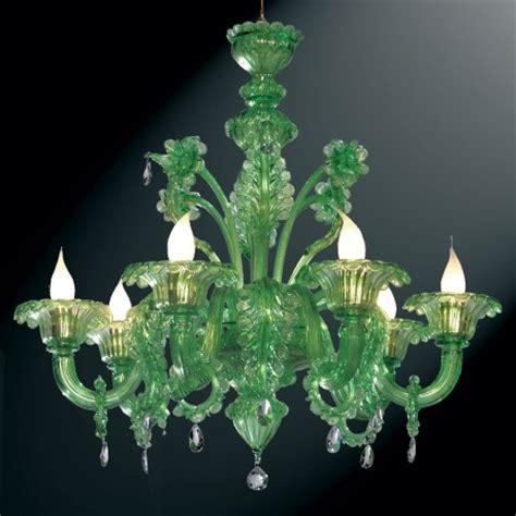 murano glass chandeliers quot giada quot green murano glass chandelier murano glass