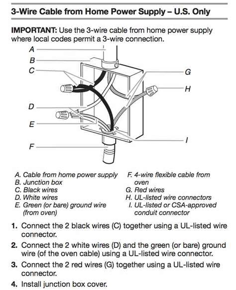 wiring diagram for a stove askmediy