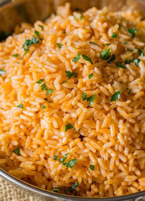 spanish rice mexican rice dinner then dessert
