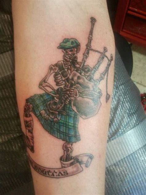 highlander tattoo my left forearm quarter sleeve is an homage to my heritage