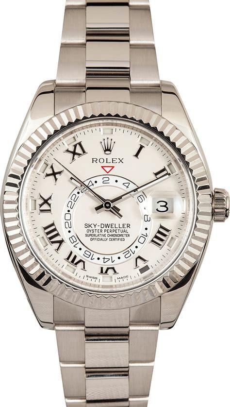 Rolex Sky Dweller White rolex s sky dweller white gold 326939