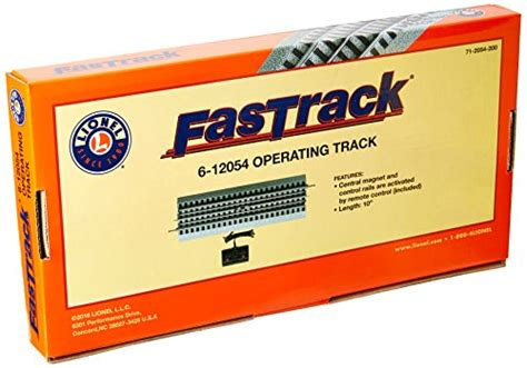 lionel fastrack operating track section lionel fastrack operating track section toys games toys