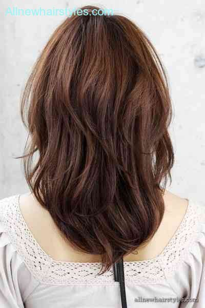 back view of layered hairstyles layered haircuts back view allnewhairstyles com