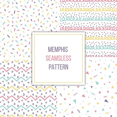 memphis pattern ai memphis patterns collection vector free download