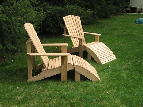 Adirondack Stool Plans by Adirondack Chair Footstool Plan Image Mag