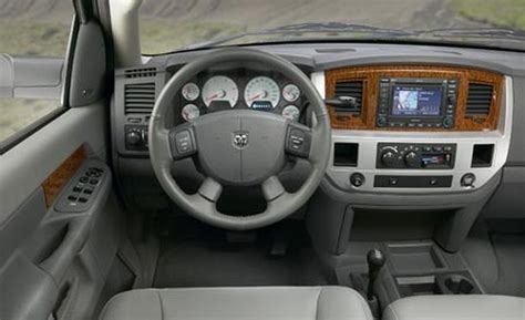 Dodge Ram 2008 Interior by Car And Driver