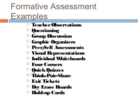 exle of formative assessment k canterbury colloquium assessment