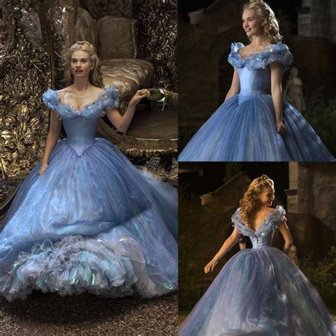 cinderella film gown cinderella prom dresses 2015 movie ball gown off shoulder