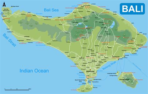 printable road map of bali detailed map of bali for tourist large bali maps for free