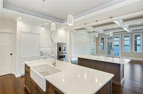 Coastal Dream Kitchen Brick New Jersey by Design Line Kitchens