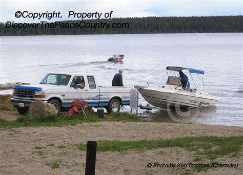 big lake alberta boat launch musreau lake provincial recreation area alberta photo of