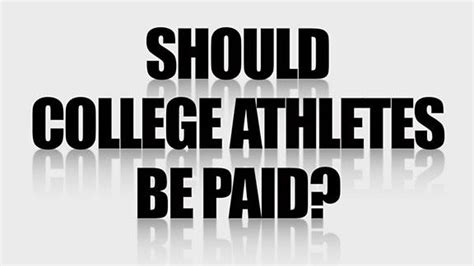 paying college athletes research paper research paper outline on should college athletes be paid