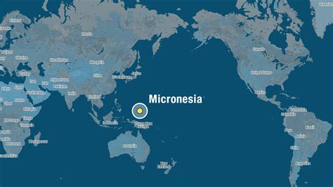 micronesia map micronesia world map images