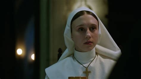 the nun cast actress the nun teaser trailer 2018 taissa farmiga demian bichir
