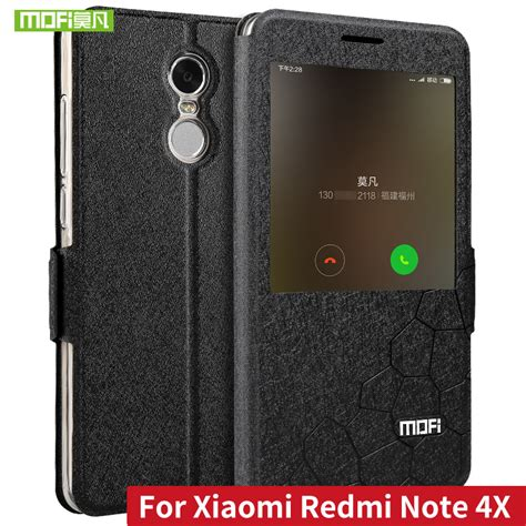Flip Xiaomi Redmi 4 Flip Cover Back Wallet Redmi4 Redmi 4 for xiaomi redmi note 4x cover funda 5 5 flip leather wallet soft silicon mofi for xiaomi