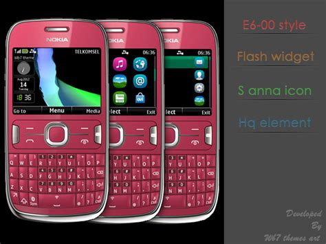 themes nokia asha 205 next theme c3 00 x2 01 320x240 s406th e6 style asha 200