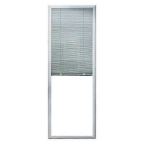 Home Depot Door Blinds by Odl White Aluminium Add On Enclosed Door Blinds At Home