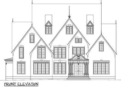 classic home design drafting classic house plan 12212jl 1st floor master suite cad