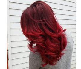 crimson hair color hair colors ideal for winter crimson copper