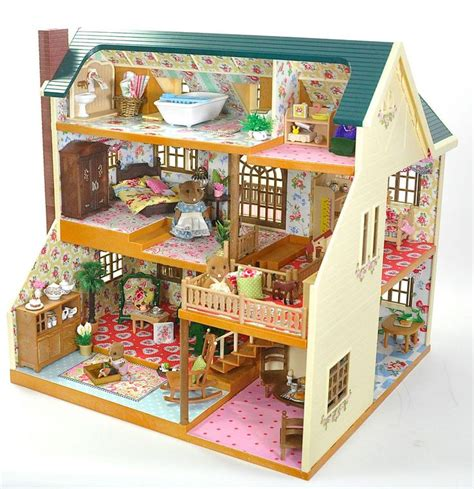 sylvanian family dolls house 324 best sylvanian families calic 243 critters images on pinterest sylvanian families