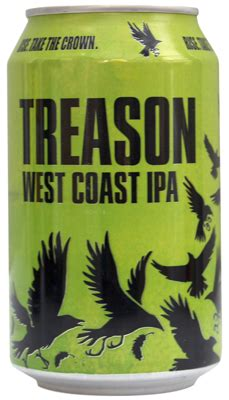 beer review uprising treason  thirsty gardeners