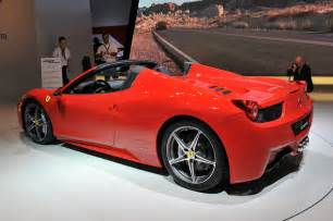 458 Insurance Cost 458 Spider Priced From 257 000 Autoblog