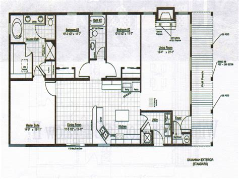 deck house plans bungalow home design floor plans bungalow house plans with