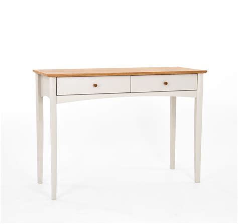 Two Tone Table by Alba Two Tone Dressing Table