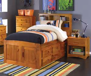 Size Captain Bed by Ridgeline Size Bookcase Captains Bed Bed Frames