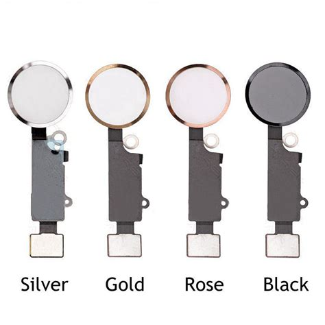 Homebutton Iphone 44s55g5s6677 List Silver for apple iphone 7 7 flex cable plus key home button