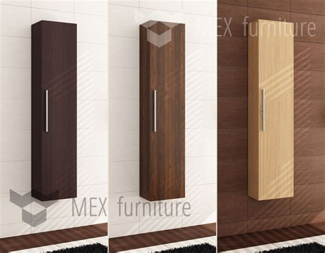 tall wooden bathroom cabinets modern tall bathroom storage cabinet unit wooden