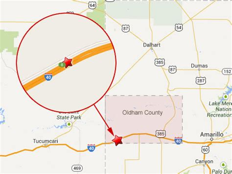 texas mile marker map semi truck driver killed in 18 wheeler in oldham county tx truck lawyer news