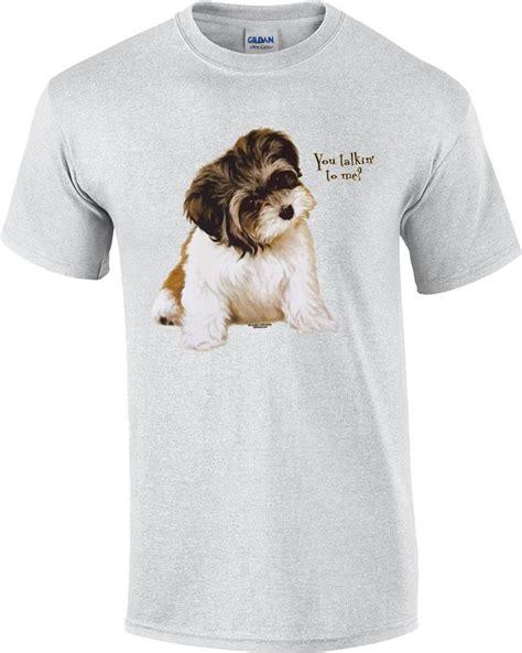 shih tzu t shirts you talkin to me shih tzu puppy t shirt ebay