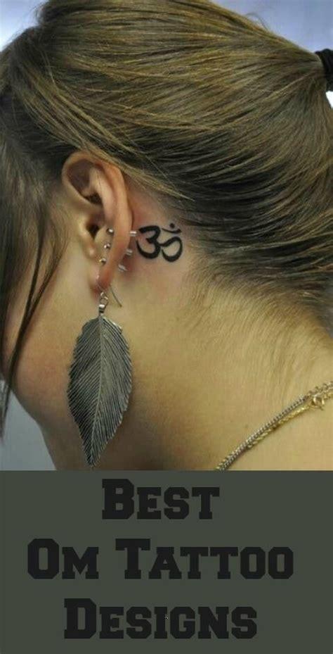 aum tattoo behind ear 17 ideas about om tattoo design on pinterest ohm tattoo