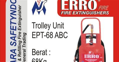 Apar 6 Kg Abc Chemical Type Powder tabung apar pemadam kebakaran