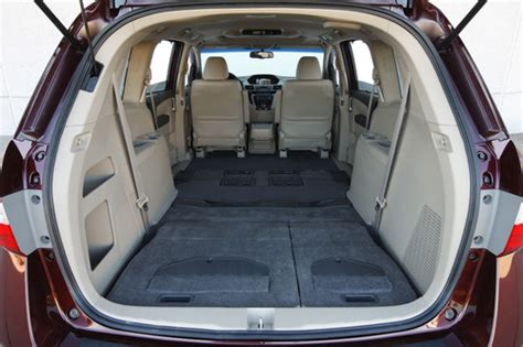 Honda Odyssey Interior Dimensions by 2007 Honda Odyssey Trunk Space Images Frompo