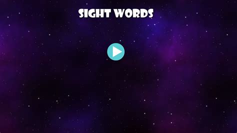 Sight Word Space Station Board sight words space word android apps on play