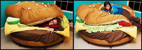 letto hamburger la classifica dei letti pi 249 strani e buffi per ispirare i