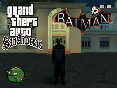 gta san andreas batman mod game free download gta san andreas batman mod v0 3 mod gtainside com