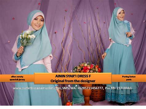 Produk Baru Set Gamis Syari Ceruty Alisha Dress Irene Gamis ainin syar i dress baju pesta remaja terbaru baju