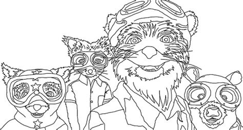 Fantastic Mr Fox Free Coloring Pages Fantastic Mr Fox Colouring Pages