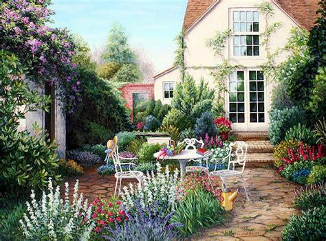 imagenes de casas con jardines hermosos cuadros modernos pinturas y dibujos cuadros de casas con