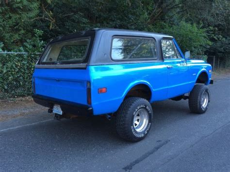 1968 1972 chevy blazer autos post