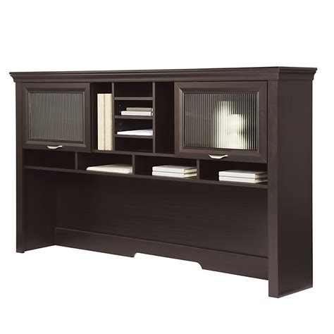 Office Desk Hutch by Realspace Magellan Performance Collection L Desk Hutch
