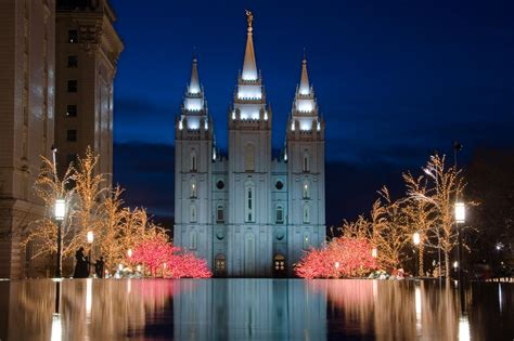 mormon temple lights mormon temple lights by utah images