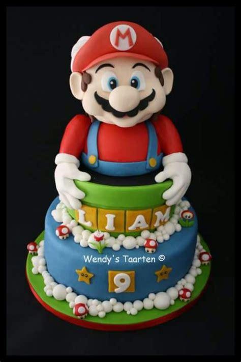 super mario bros cakes images  pinterest mario bros cake super mario bros  super