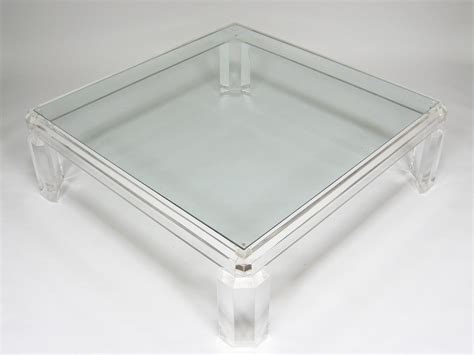 in lucite table lucite coffee table design images photos pictures
