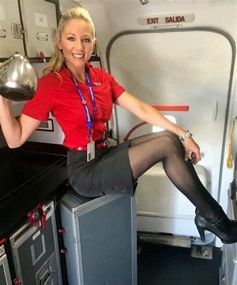 flight attendant wear bangs hot flight attendant hot flight attendants pinterest