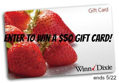 Winn Dixie Gift Cards - winn dixie 50 gift card giveaway wdfreegroceries