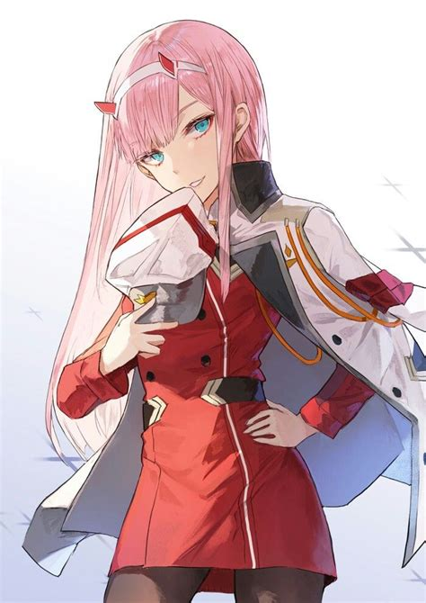 Anime Zero Two by Zero Two In The Franxx Anime